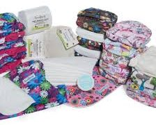 FancyPants Mixed Part Time Nappy 11 Pack