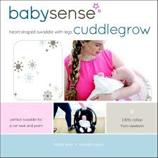 Baby Sense Cuddle Grow Swaddle With Legs