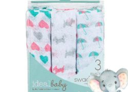 Ideal Baby 3 Pack Swaddle